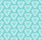 Modèle de brique de tuile d'hexagone du vecteur 3d pour la décoration et la tuile de conception illustration stock