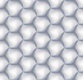 modèle de brique de tuile de l'hexagone 3d pour la décoration et la tuile de conception illustration de vecteur