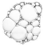 Modèle de bulles de savon Image stock