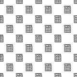 Modèle de calculatrice sans couture illustration de vecteur
