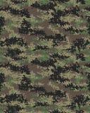 Modèle de camouflage de Digital Photographie stock libre de droits