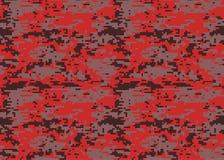 Modèle de camouflage de Digital Texture de camo de région boisée Camouflage p illustration stock