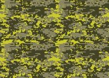 Modèle de camouflage de Digital Texture de camo de région boisée Camouflage p illustration de vecteur
