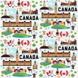 Modèle de Canada Photographie stock libre de droits