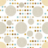 Modèle de cercle. Texture élégante moderne. Image libre de droits