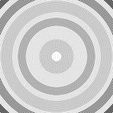 Modèle de cercles concentriques Rebecca 36 illustration de vecteur