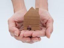 Modèle de Chambre dans le plan d'économie pour la résidence image stock