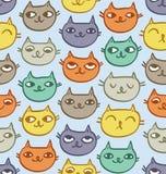 Modèle de chats Image libre de droits