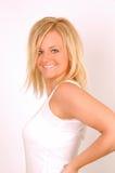 Modèle de cheveu Photographie stock libre de droits