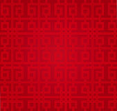 Modèle de chinois traditionnel - bonheur et chanceux Image stock