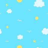 Modèle de ciel photographie stock libre de droits