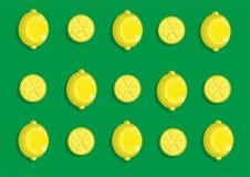Modèle de citron Images stock