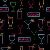 Modèle de cocktail Photographie stock libre de droits