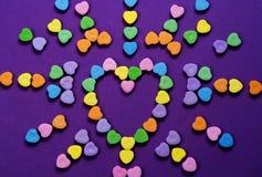Modèle de coeur Photo libre de droits