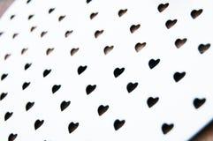 Modèle de coeurs de jour de valentines Image libre de droits