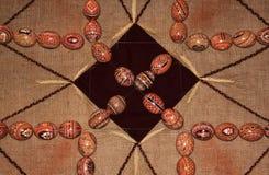 Modèle 01 de collection d'oeufs de pâques Photographie stock libre de droits