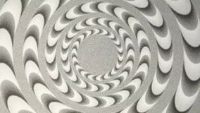 Modèle de conception de spirale d'hypnose illustration stock