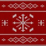 Modèle de configuration de Knit Images stock
