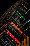 Modèle de construction coloré images libres de droits