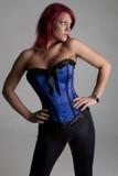 Modèle de corset Images stock