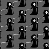 Modèle de costume de Halloween de la mort illustration stock