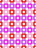 Modèle de couleur de coeur photos stock