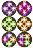 Modèle de couleur de coeur photo stock
