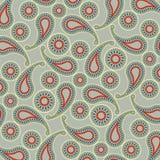 Modèle de couleur de textile de cachemire Photographie stock