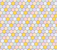 Modèle de couleur des polygones Photo libre de droits