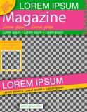 Modèle de couleurs avec le calibre de conception de couverture de livre d'affaires de fond de ville dans A4 Peut être s'adaptent  Images libres de droits