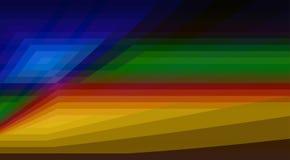Modèle de couleurs foncées avec des formes géométriques Fond de vecteur image stock