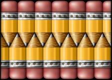 Modèle de crayon Images stock