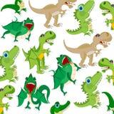 Modèle de dinosaures d'animaux Photos stock