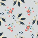 Modèle de feuille florale Photographie stock
