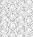 Modèle de feuilles Backgound sans couture de feuille Image libre de droits