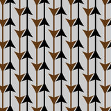 Modèle de flèche illustration stock