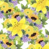 Modèle de fleur Photo stock