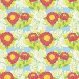Modèle de fleur Photos libres de droits
