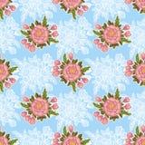 Modèle de fleur Images libres de droits
