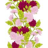 Modèle de fleur Photographie stock