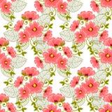 Modèle de fleur Photographie stock libre de droits