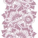 Modèle de fleur Photos stock