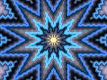 Modèle de fleur abstrait illustré sans couture Image libre de droits