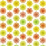 Modèle de fleur coloré abstrait illustration de vecteur