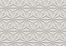 Modèle de fleur 3d sans couture illustration stock