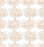 Modèle de fleur de ressort Images libres de droits