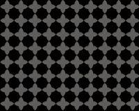 Modèle de fleur gris noir illustration stock