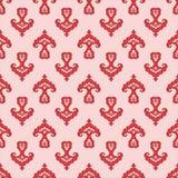 Modèle de fleur stylisé de Tatar photo libre de droits
