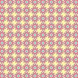 Modèle de fleur tribal abstrait Images stock