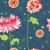 Modèle de fleurs Photographie stock libre de droits